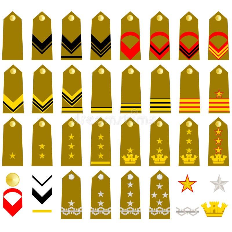 Brücke-Italiener-Armee lizenzfreie abbildung
