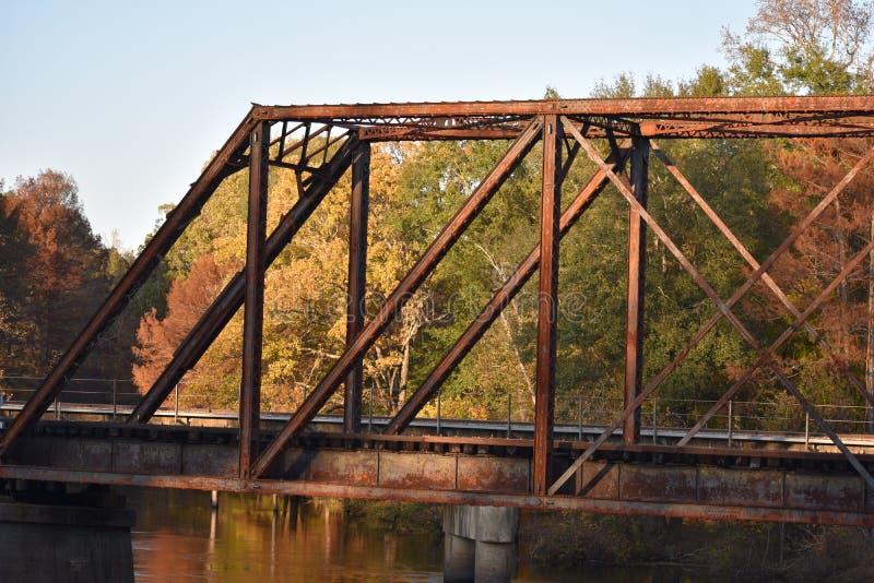 Brücke in Jefferson Texas Nov 25 2018 lizenzfreie stockfotos