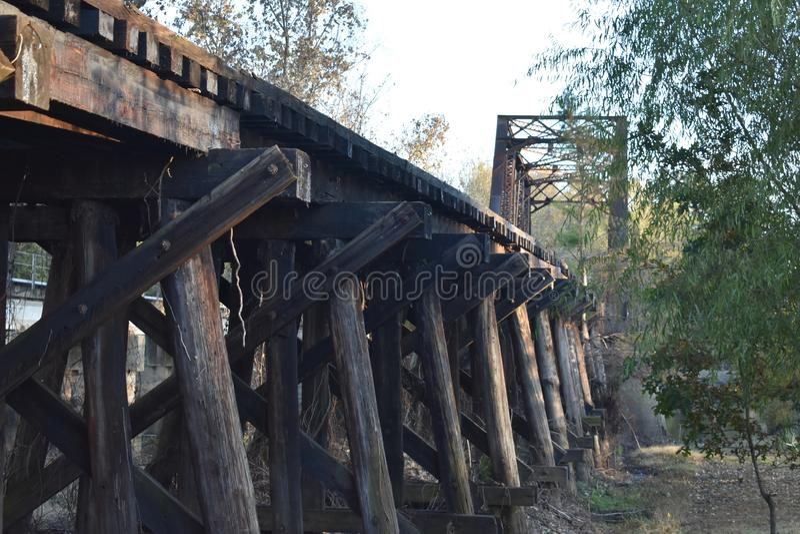Brücke in Jefferson Texas Nov 25 2018 stockfoto