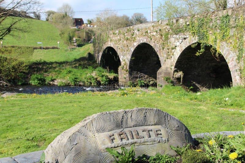 Brücke nah an Millstreet in der Grafschaft Cork Ireland stockfoto