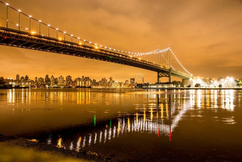 Brücke New York City NYC RFK stockfotos