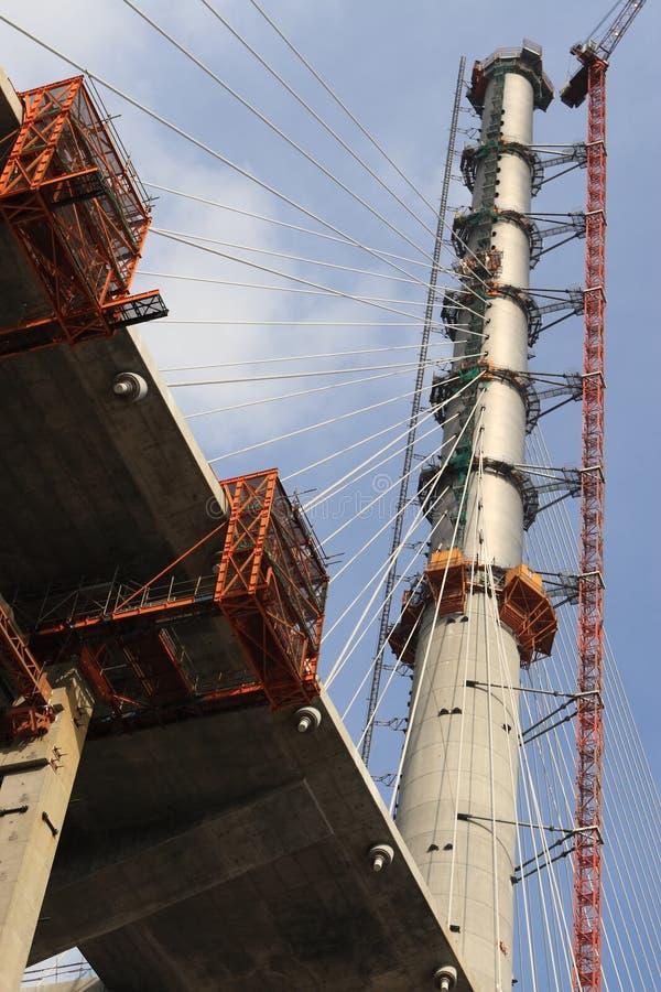 Brücke Pole lizenzfreies stockfoto