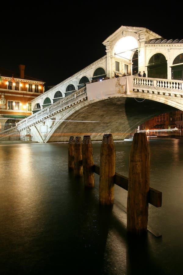Brücke Rialto - Venedig lizenzfreie stockfotografie