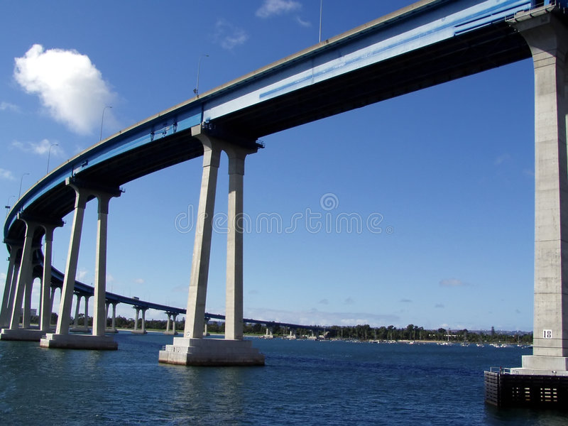 Brücke San-Diego-Coronado lizenzfreies stockbild