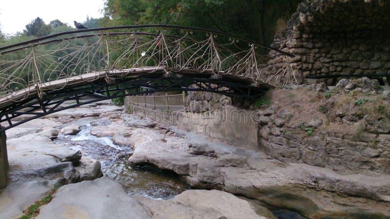 Brücke sind herein klein lizenzfreies stockfoto