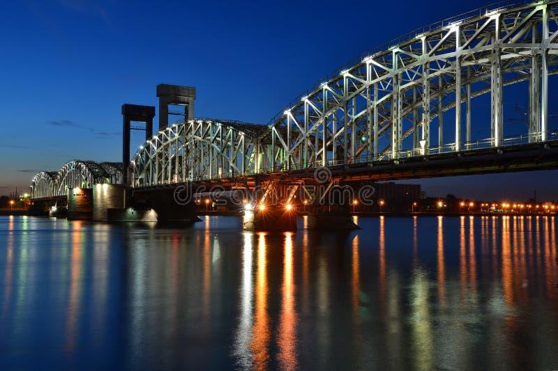 Brücke St- Petersburg, Finnland lizenzfreies stockbild