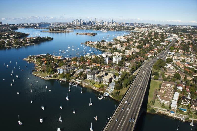 Brücke, Sydney, Australien. lizenzfreie stockbilder
