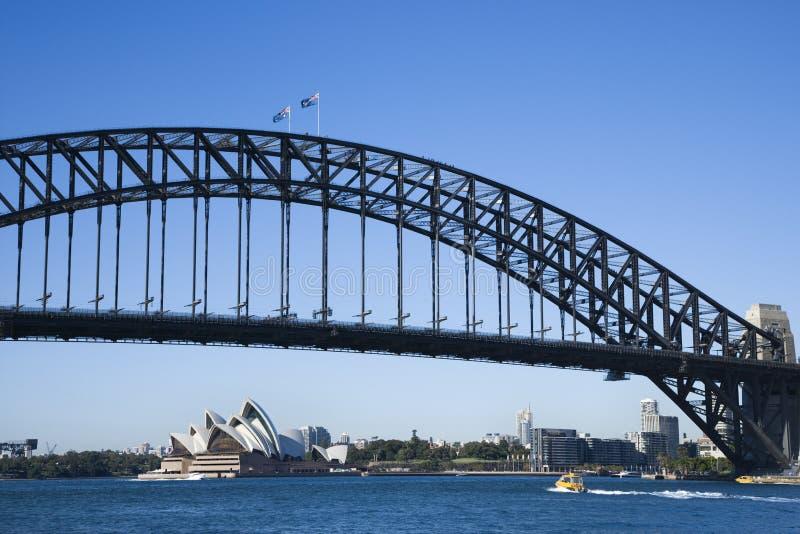 Brücke, Sydney Australien. stockfoto