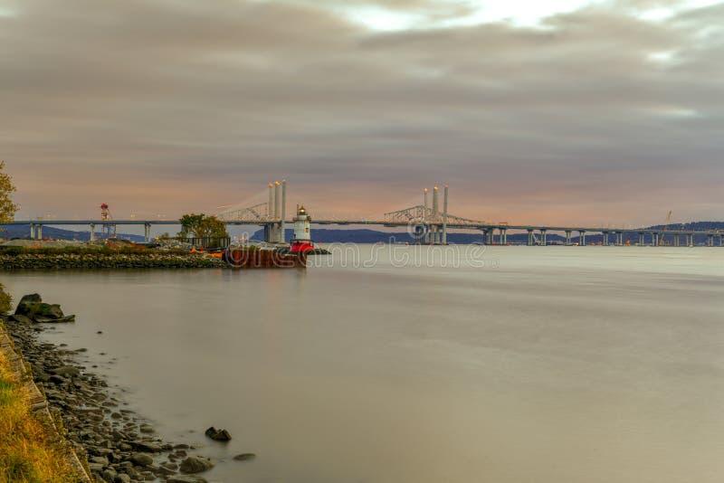 Brücke Tappan Zee - New York lizenzfreie stockfotos