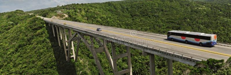 Brücke zwischen Havana und matanzas stockfotos