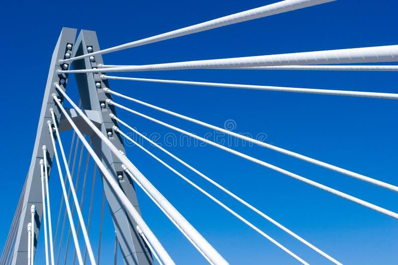 Brücken-Überspannung stockbilder