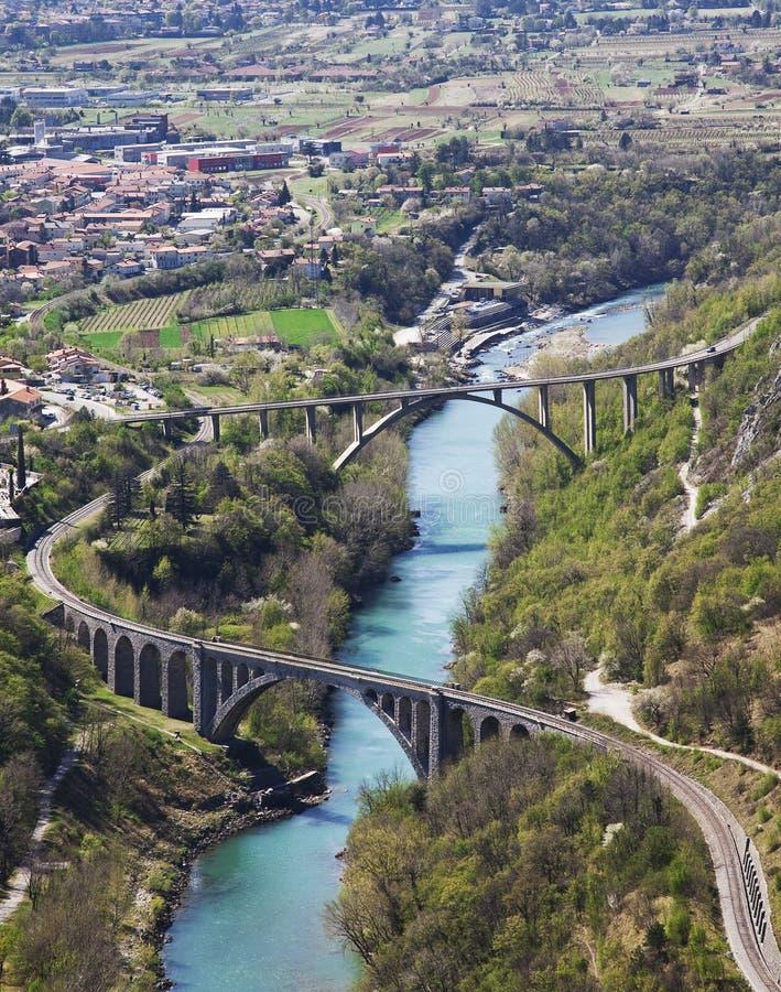 Brücken lizenzfreies stockbild