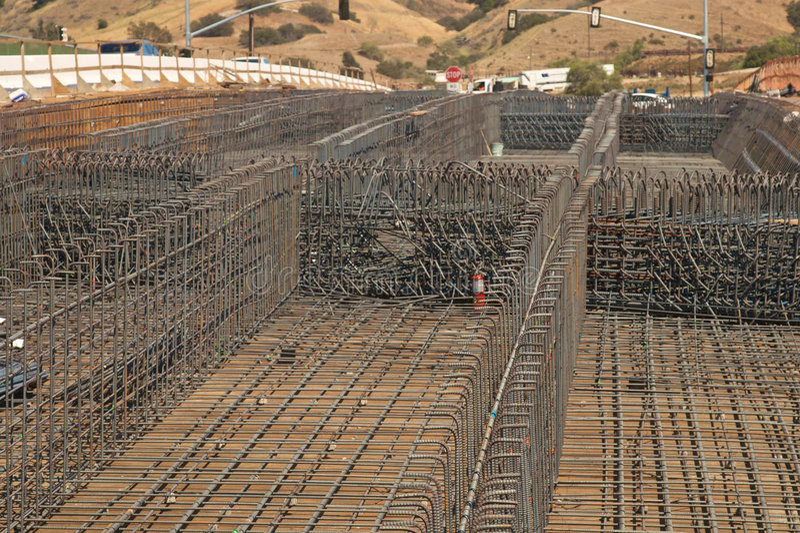 Brücken-Aufbau stockfotos