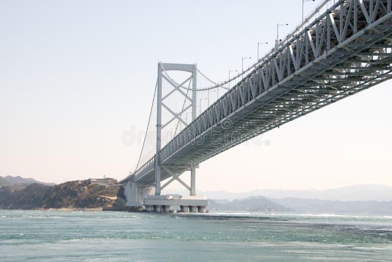 Brücken-Projekt Honshu Shikoku stockbild