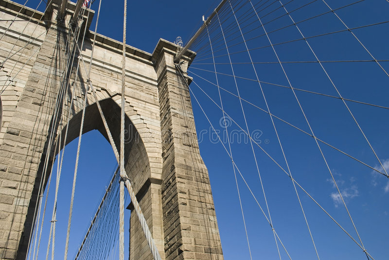 Brücken-Support stockfotos