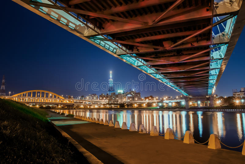 Brücken in Taiwan lizenzfreies stockbild