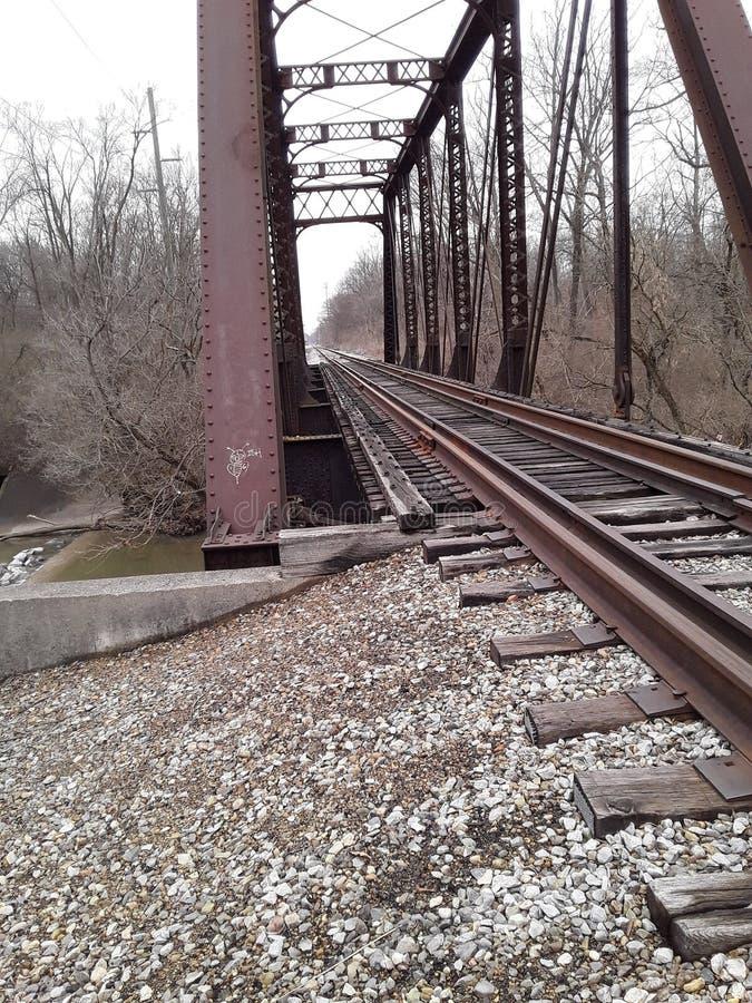 Brücken unbekannt lizenzfreies stockbild