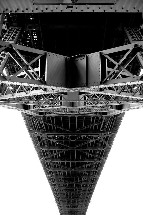 Brücken-Unterseite lizenzfreie stockfotos