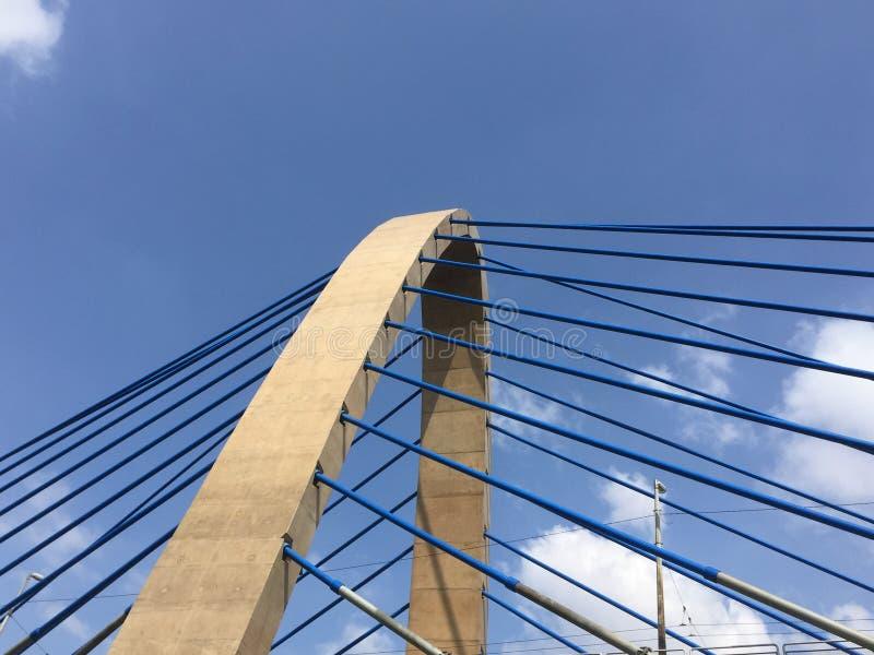 Brückenkabel stockfotos