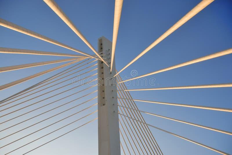 Brückenkontrollturm lizenzfreie stockfotos