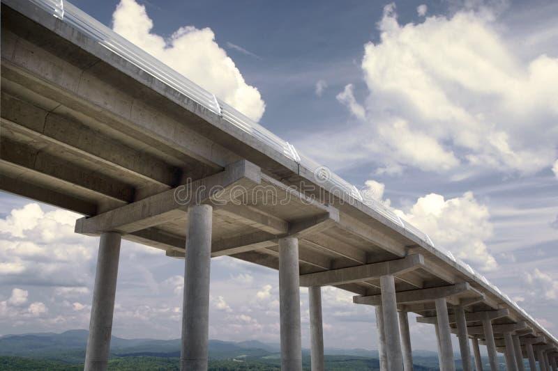 Brückenmittag stockfotos