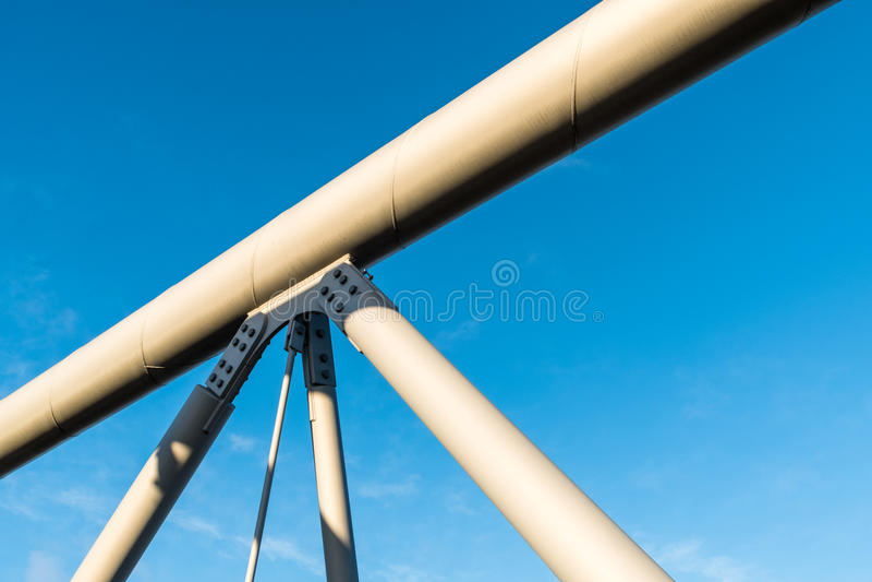 Brückenstrukturdetails lizenzfreies stockbild