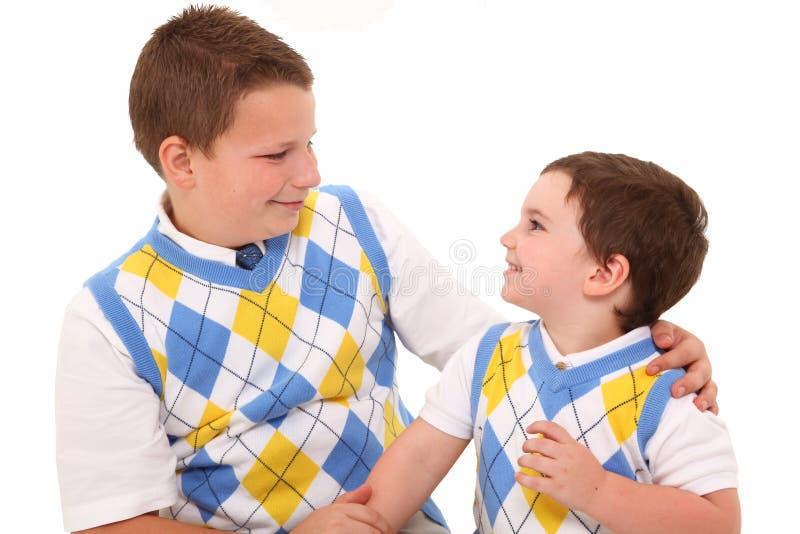 Brüder stockbild