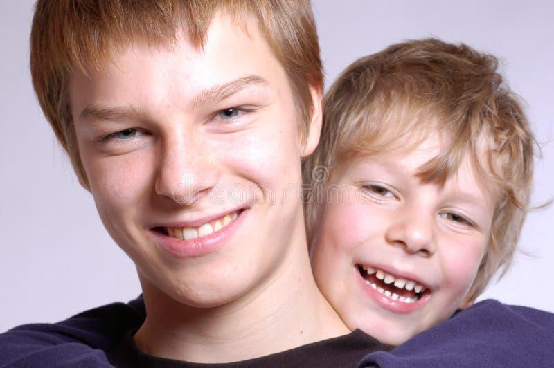 Brüder stockfoto