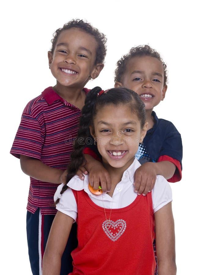 Brüder und Schwester lizenzfreie stockfotos
