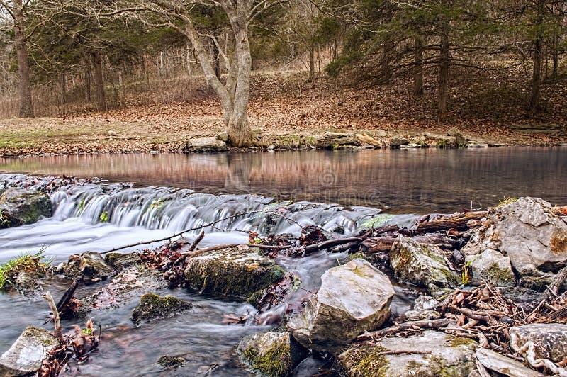 Brüllenflusswasserfall stockfoto