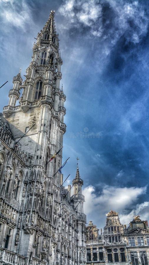 Brüssel-Architektur lizenzfreie stockbilder