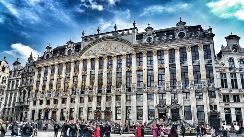 Brüssel-Architektur stockfotos