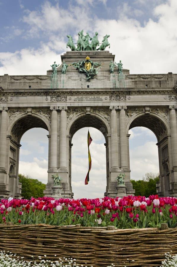 Brüssel-Bogen lizenzfreie stockfotografie