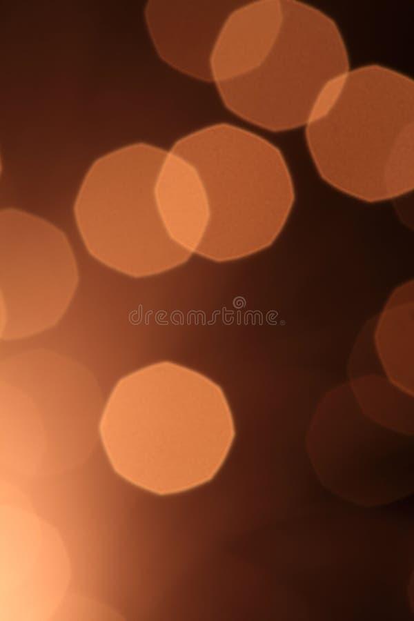 brąz abstrakcjonistyczny światło fotografia stock