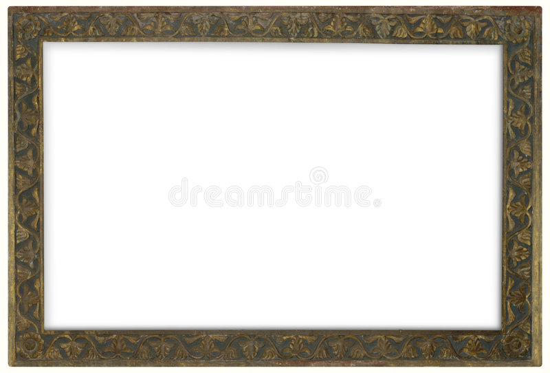 brązowa rama zdjęcie stock