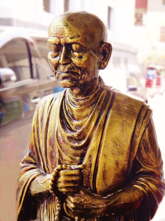 Statua medytuje michaelita obrazy royalty free