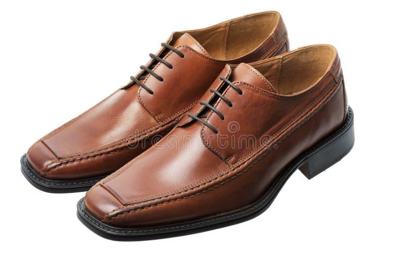 brązowe buty. zdjęcia stock