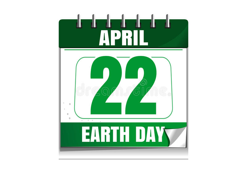 brązowić dzień zakrywającą ziemię środowiskowy ulistnienie idzie zielony idzie uściśnięcia natury zwrotów powiedzeń sloganów teks ilustracja wektor