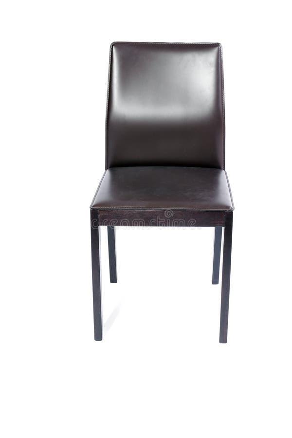 brązowy fotel obrazy stock
