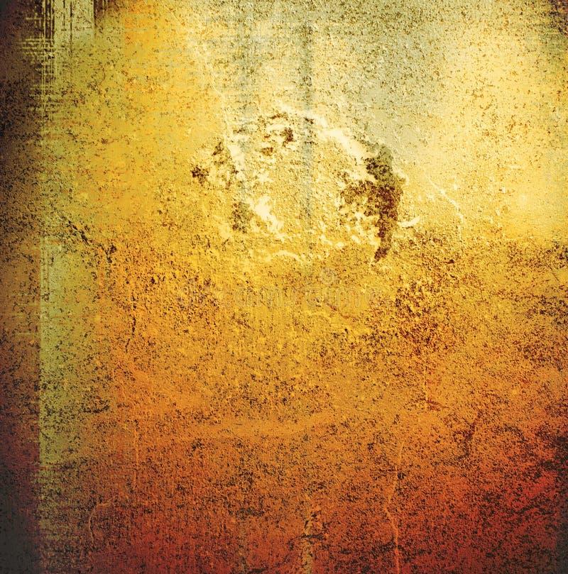 brązowy grungy ściany obrazy stock