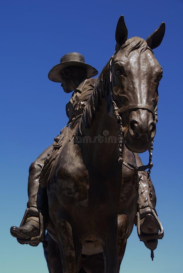 brązowy kowboj fotografia royalty free