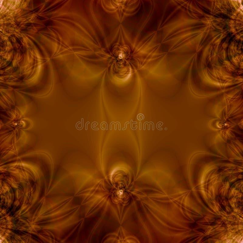 brązowy tła abstrakcyjne royalty ilustracja
