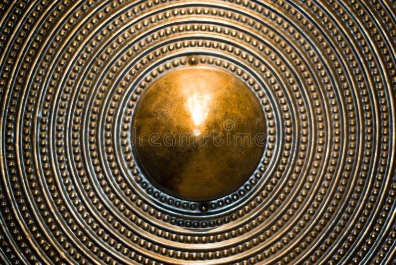 brązowy tarcza tło zdjęcia royalty free