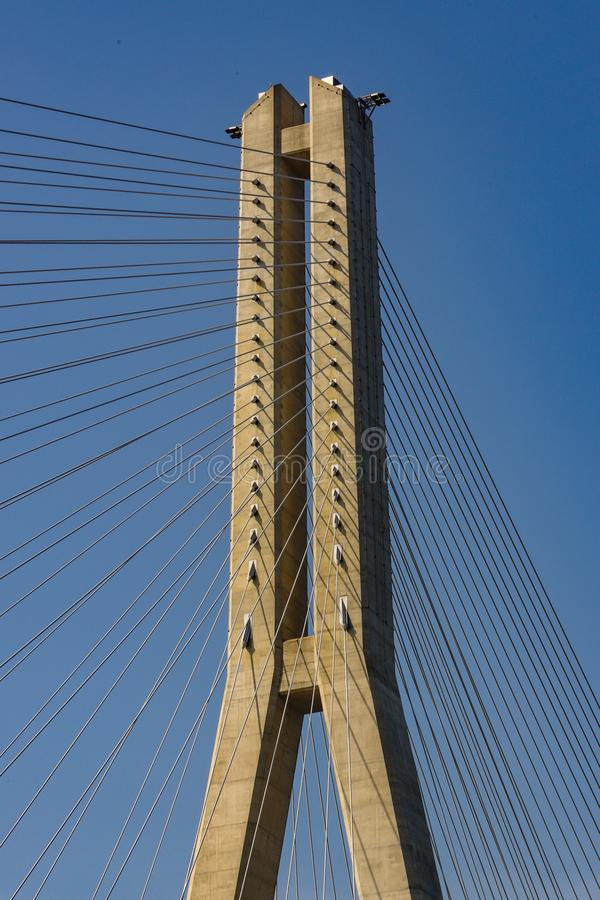 Br?cke der Aufhebung-Bridge stockfotos