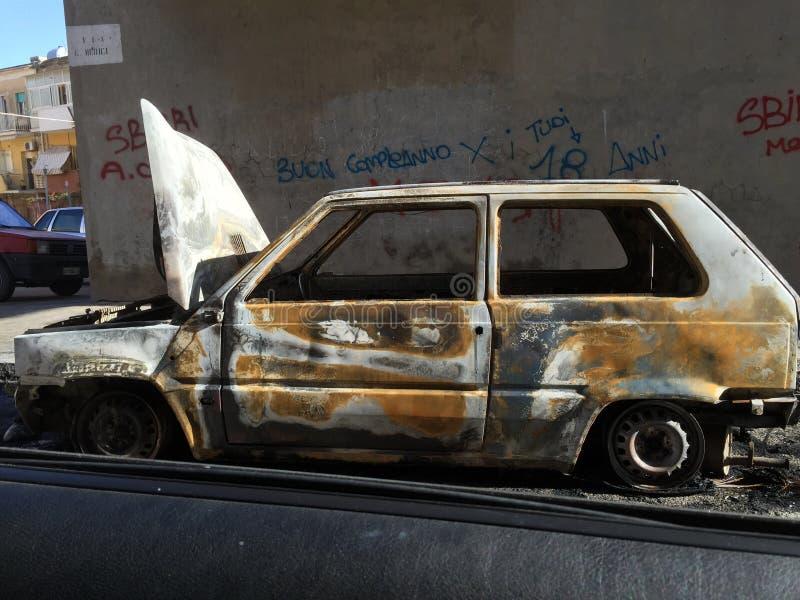 brûlé photo libre de droits