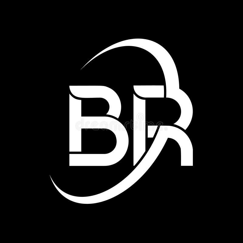Abstract Letter B Logo Design Vector Template Stock Vector