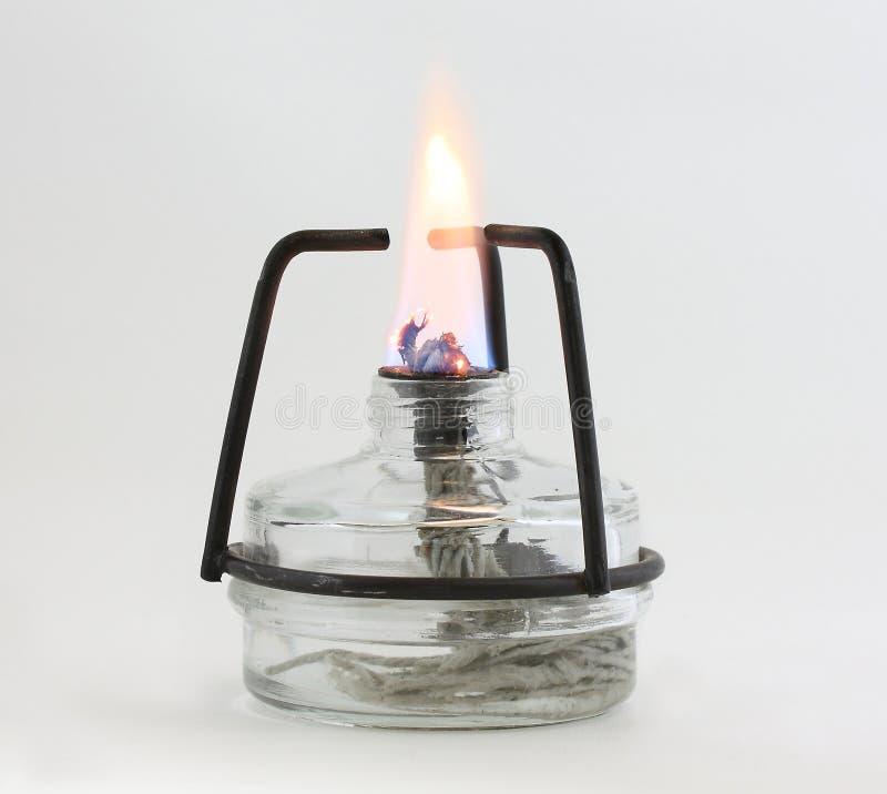 Brûleur à alcool image stock