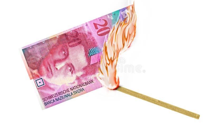 Brûlure d'argent photos libres de droits