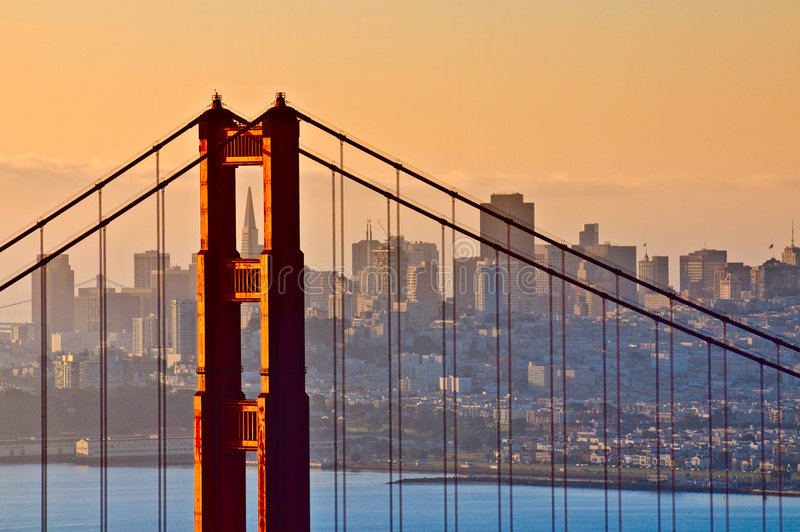 Br5ucke, San Francisco stockfotos