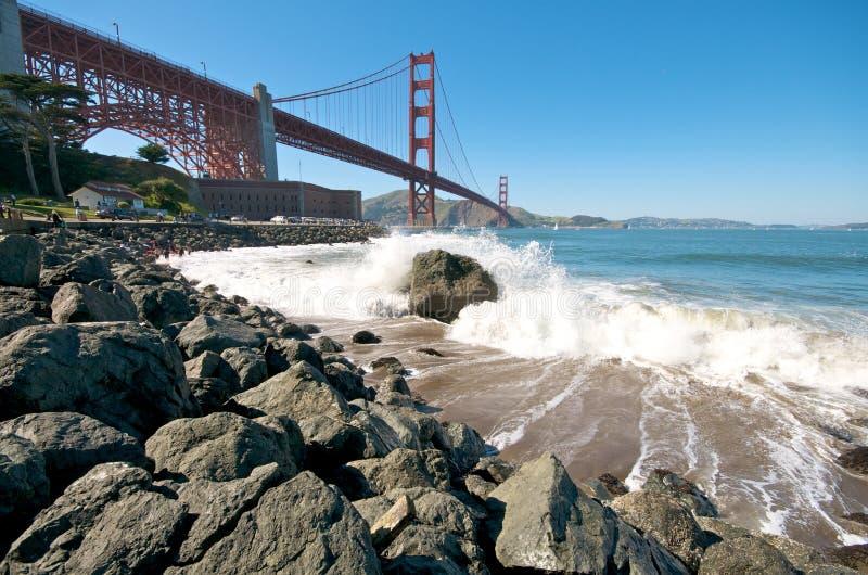 Download Br5ucke-Strand In San Francisco Stockbild - Bild von stadt, anschluß: 9076909
